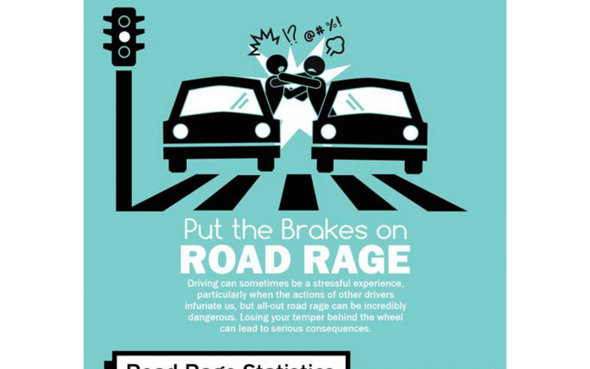 Put the Brakes on Road Rage - Infographic