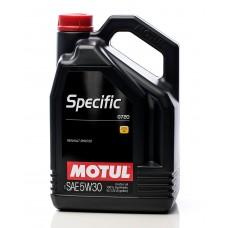 Specific  0720 Motor Oil