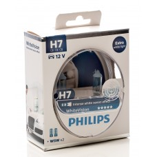 Phillips H7 White Vision Bulb