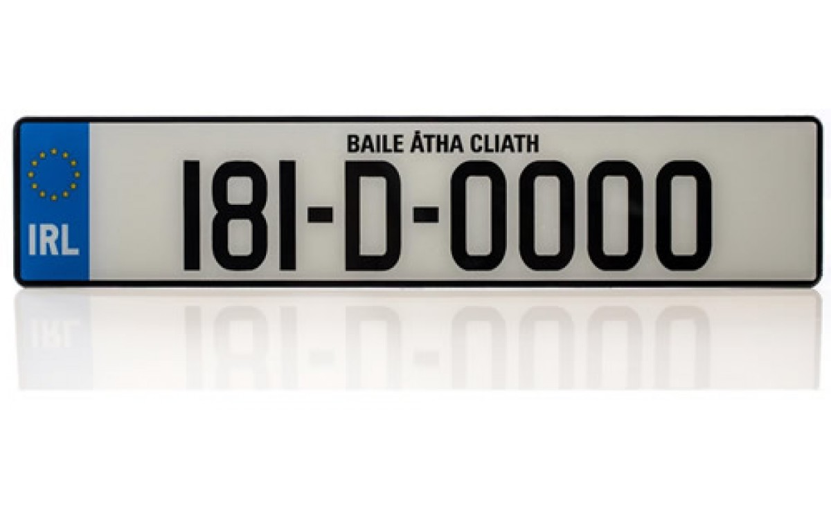 Classic Car Number Plates Suppliers Dublin